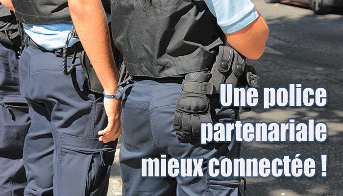 police de sécurité du quotidien et equipements de communication